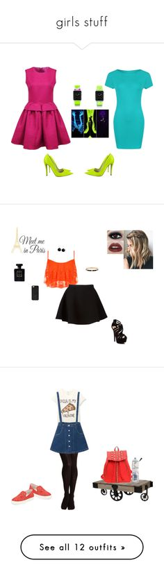 """girls stuff"" by fast-trek-fashion9 ❤ liked on Polyvore featuring Christian Dior, Casetify, WearAll, Disney, Neil Barrett, Red Circle, Karen Kane, Henri Bendel, BaubleBar and Haze"
