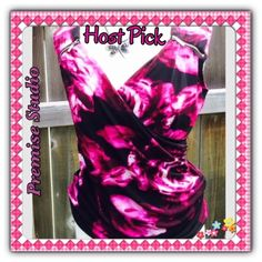 """NWOT Premise Studio Top Size Medium Host Pick for the Pretty, Flirty &Girly Party 9-11-15 Chosen by @violet507 ❤️ NWOT Premise Studio Top, Size Medium. 95% Polyester, 5% Spandex. Machine Wash Cold. Ruching on one side makes it very figure flattering. Colors are White, Pink, Raspberry and Black. Decorative Silver Zippers. Material has a lot of stretch to it. Mannequin is a 36-24-36 to give you an idea of fit. Measurements laying flat: Shoulders 15"""", Chest 19"""", Length 24.5"""". No Trades, PayPal…"""