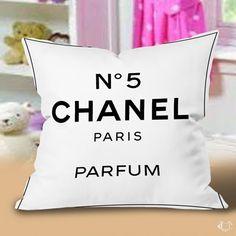 Chanel N5 Paris Parfum Pillow Cases