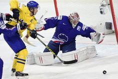 Hockey sur glace: la France a tout tenté contre la Suède - La Croix