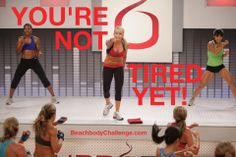 Love Chalene Johnson & Turbo Fire and I love when she says this! http://soreyfitness.com/fitness/beachbodys-turbo-fire-review/