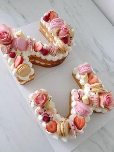 Number Birthday Cakes, Brithday Cake, Birthday Cake For Him, Birthday Wishes Cake, Birthday Cakes For Women, Number Cakes, 23rd Birthday, Present Cake, Elegant Birthday Cakes