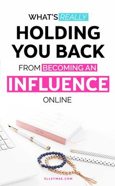 The number one thing holding far too many female entrepreneurs, small biz owners, bloggers, Instagram Influencers & #bossbabes back from becoming an influence online? Their mindset! Get inspired to become a better version of yourself & clear your mindset with today's post on ElleyMae.com   Becoming an influence online, blog tips, social media tips, social media marketing, Instagram influencer, make money online, work from home, make money at home, mindset, mindset shifts, entrepreneur mi