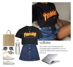 """""""Look #346"""" by lexi7802 ❤ liked on Polyvore featuring Topshop, adidas, Spitfire, Zoe & Morgan, Sagaform and Casio"""