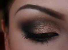 Neutral Smokey Eye Makeup Neutral Smokey Eyeshadow For Brown Eyes Tutorial Amazingmakeups Neutral Smokey Eye Makeup Eye Makeup New Beautiful Neutral Dramatic Smokey Eyes Makeup. Neutral Smokey Eye Makeup Neutral Smokey Eyes Holiday Makeup K. Makeup Tricks, Eye Makeup Tips, Smokey Eye Makeup, Beauty Makeup, Makeup Ideas, Smokey Eyeshadow, Makeup Eyebrows, Eye Brows, Makeup Geek