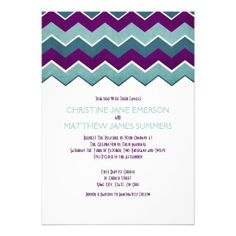 ==>Discount          	Purple and Teal Zig Zag Wedding Invitations           	Purple and Teal Zig Zag Wedding Invitations so please read the important details before your purchasing anyway here is the best buyShopping          	Purple and Teal Zig Zag Wedding Invitations lowest price Fast Shipp...Cleck See More >>> http://www.zazzle.com/purple_and_teal_zig_zag_wedding_invitations-161137346258672676?rf=238627982471231924&zbar=1&tc=terrest