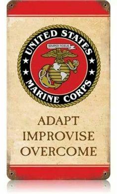 Improvise, adapt, & overcome.