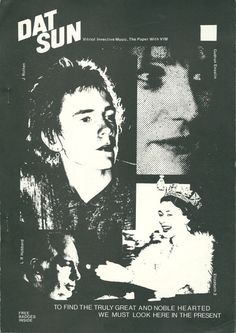 jonsavage : archive : » Dat Sun fanzine, early 1978