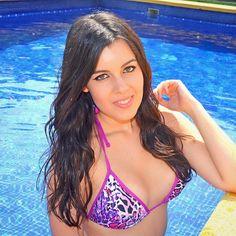 Pink & Animal Print! @inmaferrer #surania #bikini #pink #animalprint #leopard #summer #pool #fashion #swimwear  www.surania.com