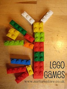 """Lego """"can you build it"""" Club. Would make cards with different lego configurations. The kids would have to build it to the specifications. Lego Math, Math Classroom, Kindergarten Math, Teaching Math, Lego Activities, Fun Math Games, Enrichment Activities, Lego Games, Math Resources"""