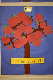lots of apple ideas, books:The seasons of Arnold's Apple Tree & Johnny Appleseed