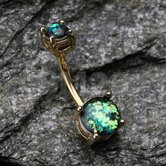 Hey, I found this really awesome Etsy listing at https://www.etsy.com/listing/257779688/golden-black-opal-sparkle-prong-set