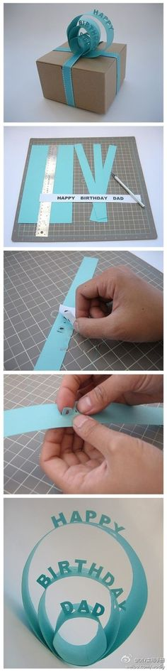 Gift wrap idea. *Website not in English.