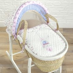Bassinets & Cradles Imported From Abroad Kinder Valley Folding Moses Basket Stand Baby Sleep Cot Gift New Uk Buy Now