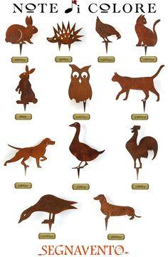 Poster con i nostri amici animali in #Corten