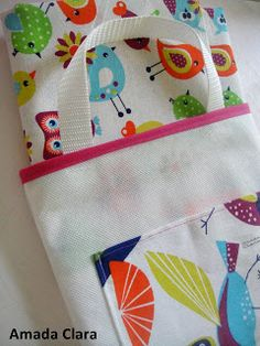 Bolsa para transportar la lona de playa, ideal para estas vacaciones! Diaper Bag, Coin Purse, Lunch Box, Picnic, Design, Google, Fashion, Beach Accessories, Fabric Toys