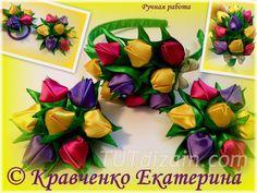 Букет тюльпанов своими руками