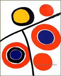 Alexander Calder, 1973: Derriere le miroir 201