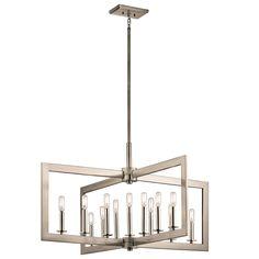 Cullen 13 Light Linear Chandelier
