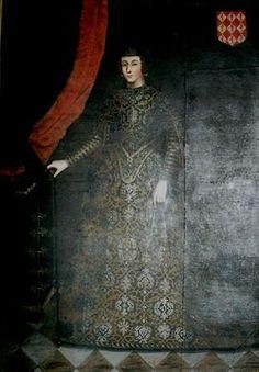 Retrato de D.ª Francisca de Brito, Fundadora do Colégio da Madre de Deus…