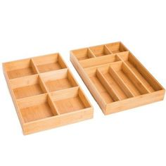 Kitchen-Pack of 2 Poemay Adjustable Expandable Drawer Dividers Organizers Separators with Bedroom