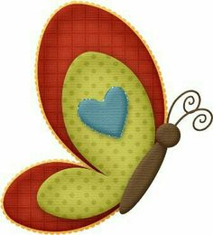 Borboleta - Tita K - Picasa Web Albums Applique Templates, Applique Patterns, Applique Designs, Quilt Patterns, Wool Applique, Applique Quilts, Embroidery Applique, Machine Embroidery, Unicorn Diy