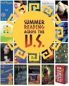 Summer Reading Across the US:  Fabulous Writers in Every State