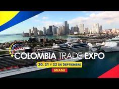 COLOMBIA TRADE EXPO Miami 20-21-22 de septiembre  Bienes Raíces de Colombia y la USA,  Turismo,  Logistica,  Salud,  Belleza,  Artesanias  (PUESTOS DISPONIBLES)  786 210-3192
