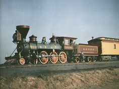 Thatcher Perkins locomotive, built in 1863 by the Baltimore & Ohio Railroad