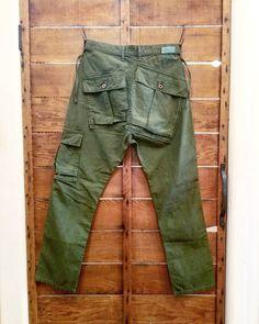 Gents Fashion, Unisex Fashion, Army Pants, Well Dressed Men, Cotton Pants, Military Fashion, Menswear, Canvas, Instagram