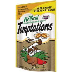 Whiskas Temptations All Natural Cat Treats