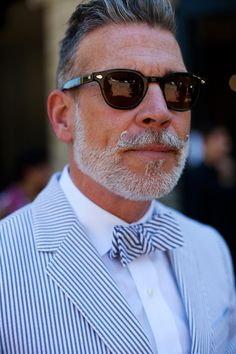 Nick Wooster, my personal fashion icon! Find your Inspiration @ #DapperNDame Pinterest. dapperanddame.com