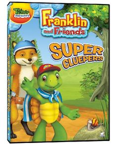 Franklin and Friends - Super Cluepers.  Click on image to check availability.