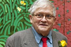David Hockney #artist #painting #draw #special #amazing # #portraits #America #Bradford #England