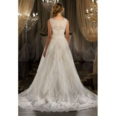 wedding dresses with lace and satin | Lace and Silk 2 in 1 Wedding Dress With a Detachable Lace Jacket and ...
