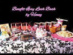 Ipsy Benefit Lash Bash Party Set up, Decor & Highlights | Honey Kahoohanohano