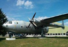 Former French Armée de l'Air Nord Noratlas transport displayed at Le Bourget.