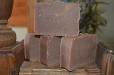 Pomegranate & Honey Goats Milk Soap by hurricanehill. Explore more products on http://hurricanehill.etsy.com
