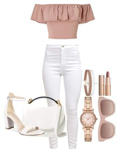"""""""Untitled #1663"""" by social-outcast-16 on Polyvore featuring Miss Selfridge, Cynthia Rowley, Kenneth Cole, Michael Kors, STELLA McCARTNEY and Charlotte Tilbury"""