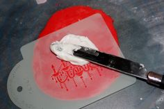HOW TO: Stencil on cookies.. cake...    I'm super excited about this!!!!!! I can't wait to try this out!