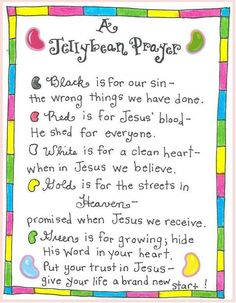 Jelly bean poem easter gift jelly jelly beans and poems beyond the bunny christ centered easter tradition ideas happy home fairy negle Images