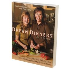 Dream Dinners Cookbook, Multicolor