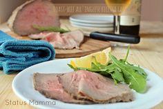 Roast beef all& ricetta facile Steak, Roasts, Fish, Estate, Tutorial, Recipes, Oven, Italian Cooking, Kitchens