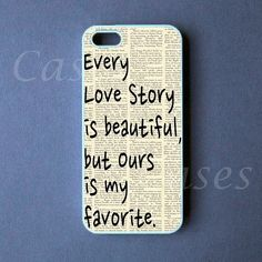 Iphone 5 Case   Our Story Iphone 5 Cover   PRE ORDER by DzinerCase, $16.99