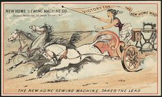 The New Home sewing machine takes the lead - Victory for the New Home Mach (front) | Flickr: partage de photos!