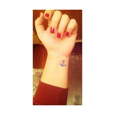 Por fin conmigo #Tatto #Ancla #Amor #Amistad #Eternidad ⚓️❤️