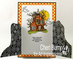 Art Impressions Blog: Halloween Tryfold!