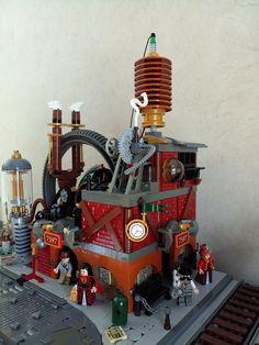 SteamPunk MOC   by domino39 Lug'est