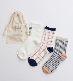 AMBIDEX Store / 【予約販売】○K.Lネット限定 靴下と白クマ巾着セット (¥3,240) - Svpply