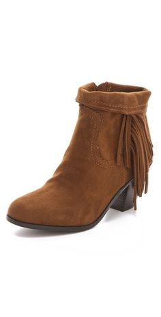 Sam Edelman Louie Fringe Booties- I tried these on at Nordstrom and they were so comfortable and cute!
